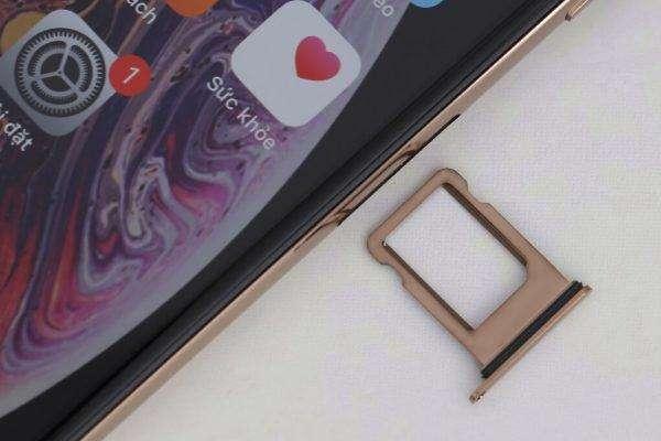 Khe sim iPhone Xs cũ quốc tế chính hãng
