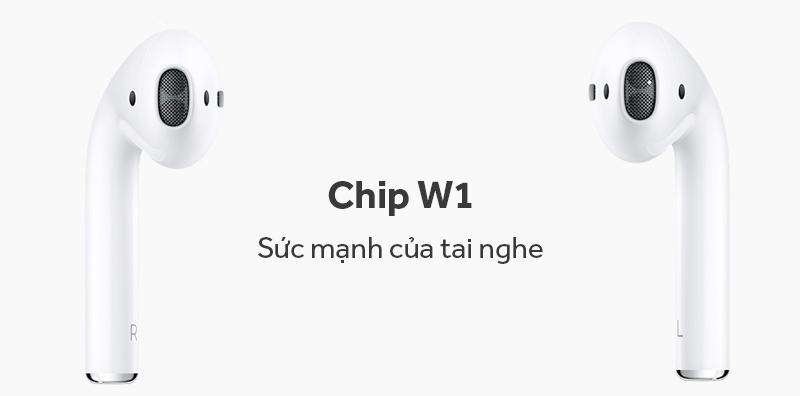Tai nghe Bluetooh Airpod 1 chip w1