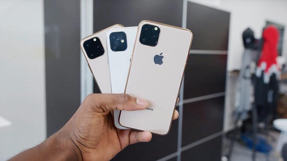 , Video trên tay bộ ba mô hình iPhone 11 với thiết kế đầy ấn tượng!!!
