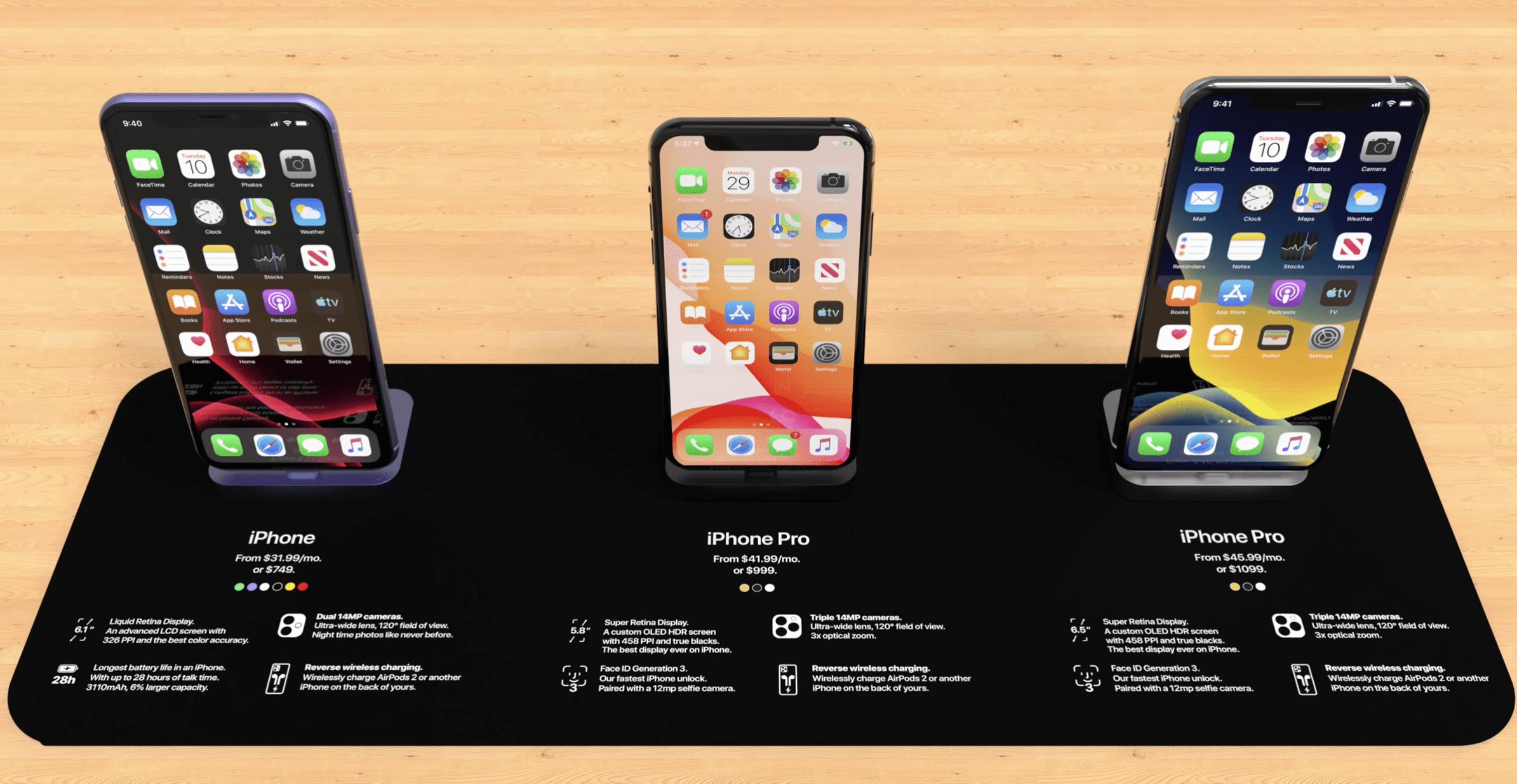 iPhone 11 trên kệ bán