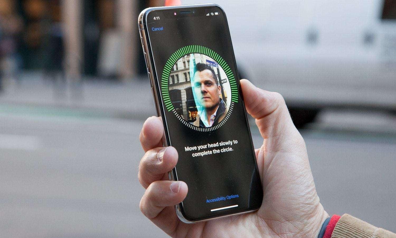 Tính năng face id trên iphone x