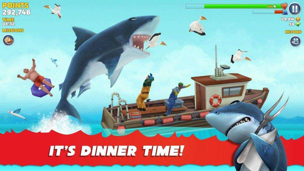 Game Offline Hay Hungry Shark Evolution