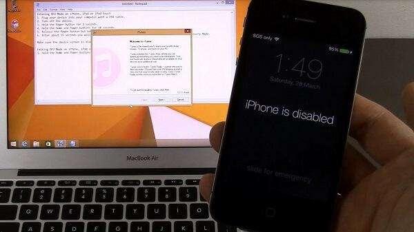 , Top 2 cách mở khóa iphone bị vô hiệu hóa nhanh nhất 2020