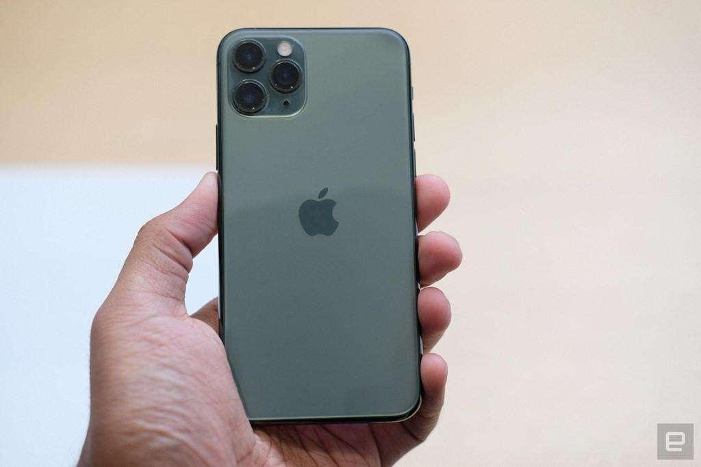 Ảnh chụp mặt lưng iPhone 11 Pro Max
