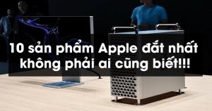 10 sản phẩm Apple đắt nhất không phải ai cũng biết!!!