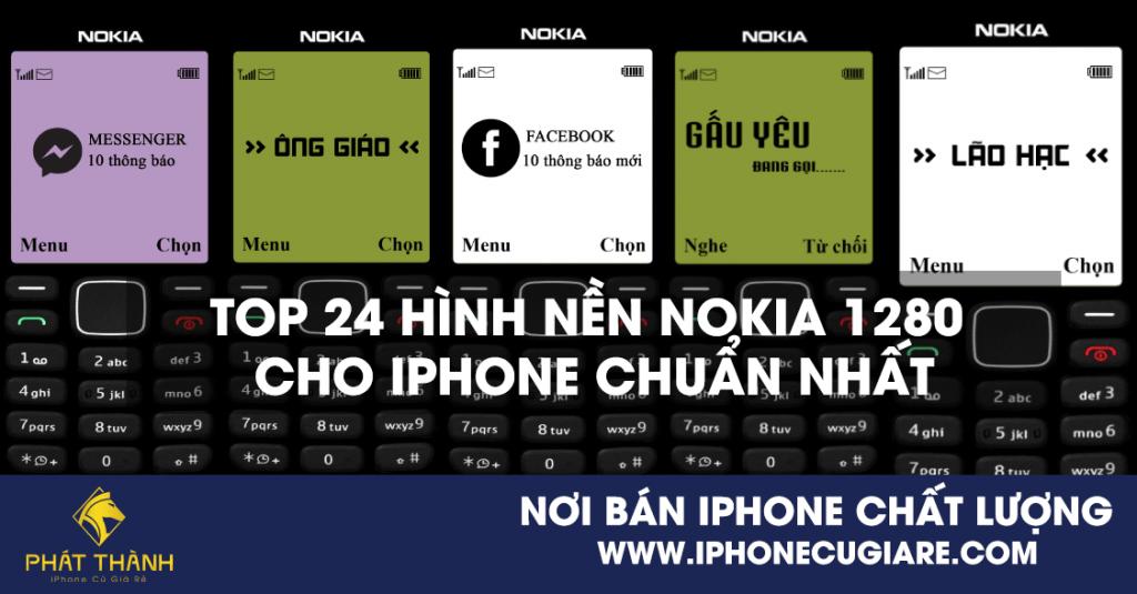 Top 24 hình nền Nokia 1280 cho iPhone chuẩn nhất