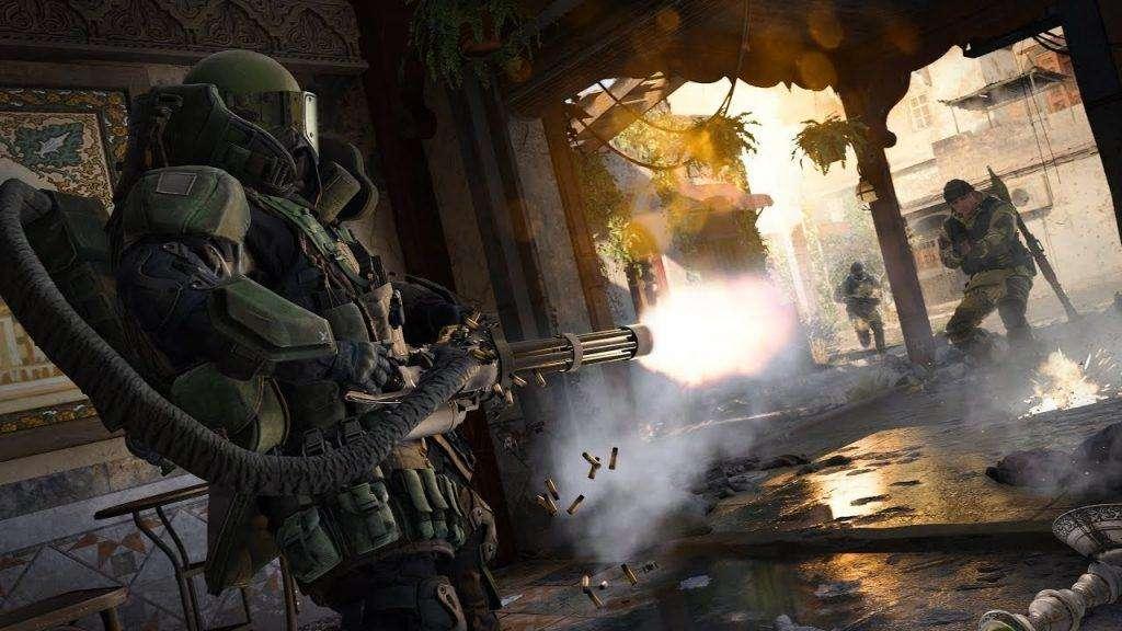 Hình ảnh trong game Call of Duty rất đẹp