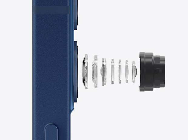 Lens camera góc rộng của iPhone 12 chỉ có 7 thấu kính, tăng độ nét và chất lượng ảnh