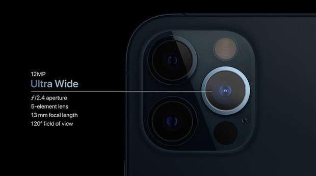 Camera góc siêu rộng trên iPhone 12 Pro