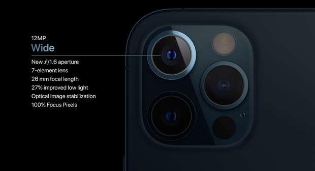 Camera góc rộng trên iPhone 12 Pro